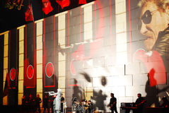 Roger Waters in concert Royalty Free Stock Photography