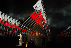 Roger Waters in concert Royalty Free Stock Photo