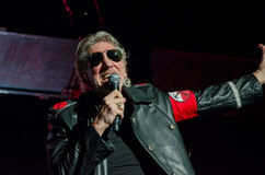 Roger Waters (Pink Floyd) la visite de mur Images stock
