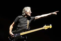 Roger Waters. Rio de Janeiro, June 23, 2006. Singer Roger Waters, during his show at Engenhão Stadium, in the city of Rio de Janeiro, Brazil Stock Photography