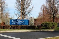 Roger Willaims uniwersytet obraz royalty free