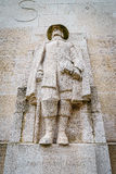 Roger Williams, reformation wall, Geneva, Switzerland. Royalty Free Stock Photography