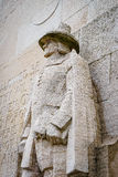 Roger Williams, reformation wall, Geneva, Switzerland. Royalty Free Stock Image