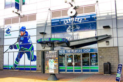 Rogers Arena, Downtown Vancouver, British Columbia. Royalty Free Stock Image