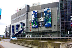 Rogers Arena, Downtown Vancouver, British Columbia. Stock Photos