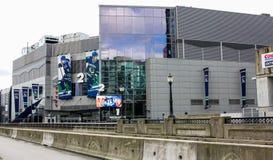 Rogers Arena, im Stadtzentrum gelegenes Vancouver, Britisch-Columbia Lizenzfreies Stockfoto