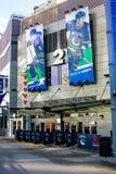 Rogers Arena, Vancouver del centro, Columbia Britannica immagini stock libere da diritti