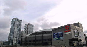 Rogers Arena in Vancouver Royalty Free Stock Photo