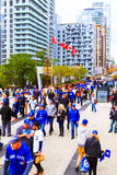 Rogers Centre @ Blue Jays game Stock Image
