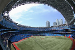 The Rogers Centre Opens its Dome for a Ballgame Stock Photography