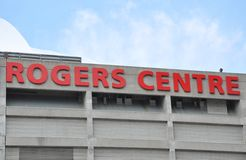 Rogers Centre sign Stock Photography