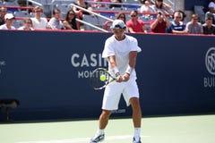 Rogers Cup Novak Djokovic Imágenes de archivo libres de regalías