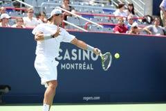 Rogers Cup Novak Djokovic Foto de archivo libre de regalías