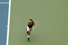 Rogers federer. 2005 us open championship stock photography