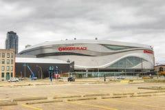 Rogers miejsce, dom NHL edmonton oilers zdjęcie stock
