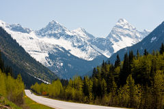 Rogers Pass Royalty Free Stock Images