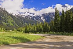 Rogers pass, revelstoke national park Stock Images