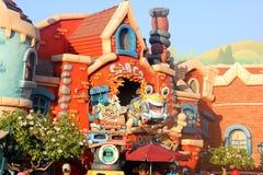 Rogers Rabbits bil Toon Spin, Disneyland Fantasyland, Anaheim, Kalifornien Arkivfoton