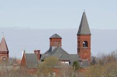 Rogers School i Fairhaven, Massachusetts Royaltyfri Foto