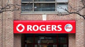 Rogers-Zeichen stockfotografie