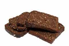 rogge brood met korrels Stock Fotografie