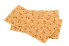 Rogge Kernachtig die Brood op Witte Achtergrond wordt geïsoleerd royalty-vrije stock foto