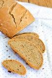 Roggebrood met lijnzaad Royalty-vrije Stock Fotografie
