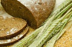 Roggebrood met oren Stock Fotografie