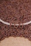 Roggevermicelli Stock Foto
