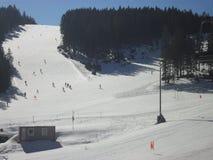 ROGLA narciarstwo obraz stock