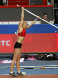 Rogowska Anna - Polish pole vaulter Stock Photography