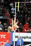 Rogowska Anna - Poolse pool vaulter Stock Fotografie