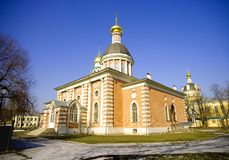 Rogozhsky old believer community of the Cathedral of the intercession of the blessed virgin Mary Royalty Free Stock Photography