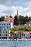 Rogoznica, Croatia view from the sea Royalty Free Stock Image