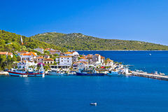 Free Rogoznica Harbor And Waterfront View Stock Images - 56745574