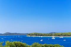Rogoznica, Kroatien - 23. Juli 2017 Lizenzfreie Stockfotos