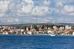 Rogoznica, opinión de Croacia del mar imágenes de archivo libres de regalías