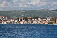 Rogoznica, opinión de Croacia del mar imagenes de archivo