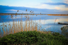 Rogozyan resevoir. Near Kharkiv (Ukraine Royalty Free Stock Photos