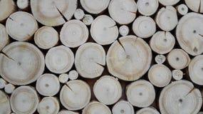 Rogs di legno della carta da parati Immagini Stock