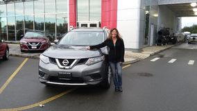 2016 Rogue Nissan Royalty-vrije Stock Afbeelding