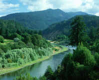 Rogue River, OR. Rogue River in southern Oregon Stock Images