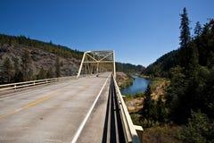 Rogue River Bridge Stock Image