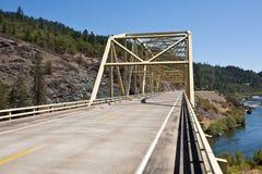 Rogue River Bridge Stock Photo