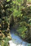 Rogue River Gorge dichtbij Vooruitzicht OF royalty-vrije stock afbeelding
