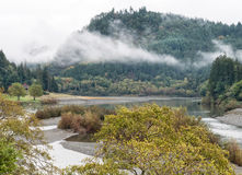 Rogue River Oregon Arkivbilder