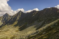 Rohace beautiful part of the Western Tatras.  royalty free stock photo