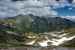 Rohace pasmo górskie Obraz Stock