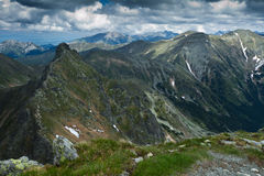 Rohace pasmo górskie Obrazy Royalty Free
