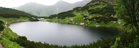 Rohace See in West-Tatra-Bergen, Slowakei Lizenzfreie Stockfotografie